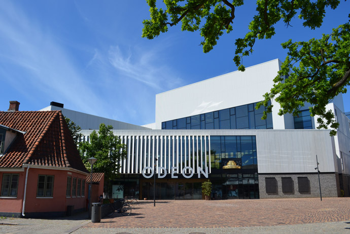 The Odeon in Odense puts of lots of cultural shows