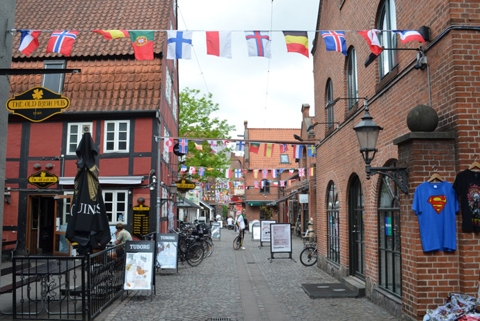 Odense is a great place for cheap shopping