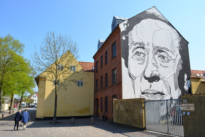 There's lots of free street art to enjoy in Odense