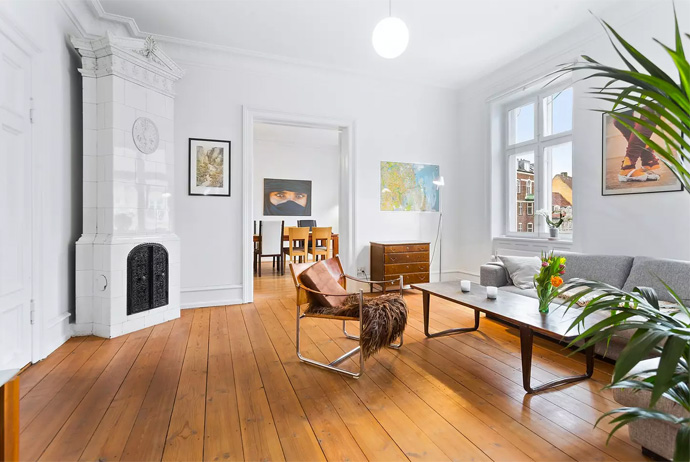 This apartment is one of the best Airbnbs in Copenhagen