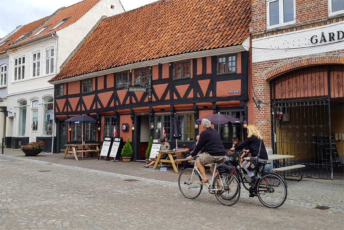 Bogense is one of the smallest towns in Fyn