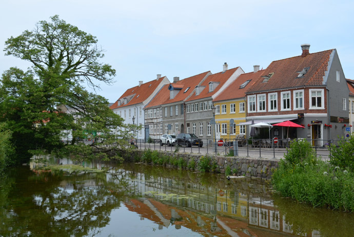 Nyborg is one of the best coastal towns in Denmark