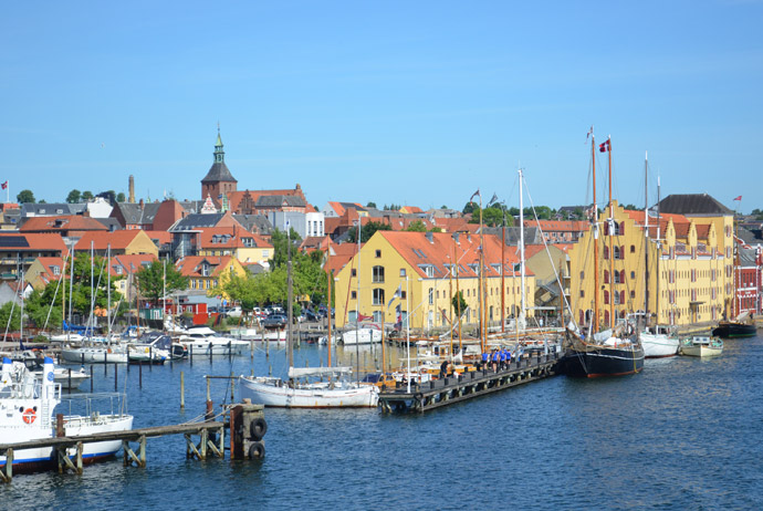 Svendborg is one of the prettiest towns on the island of Fyn