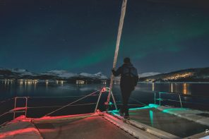 This sailing trip is a great way to see the northern lights in Norway