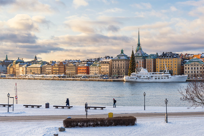 Visiting Stockholm during the winter