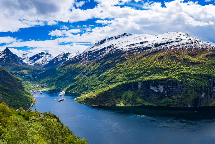 Taking a cruise in Scandinavia can be a really rewarding experience