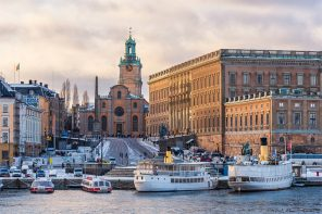 The Royal Palace is a good winter attraction in Stockholm