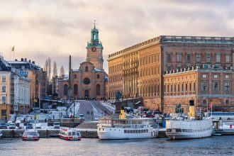 Stockholm is one of the most beautiful cities in Scandinavia