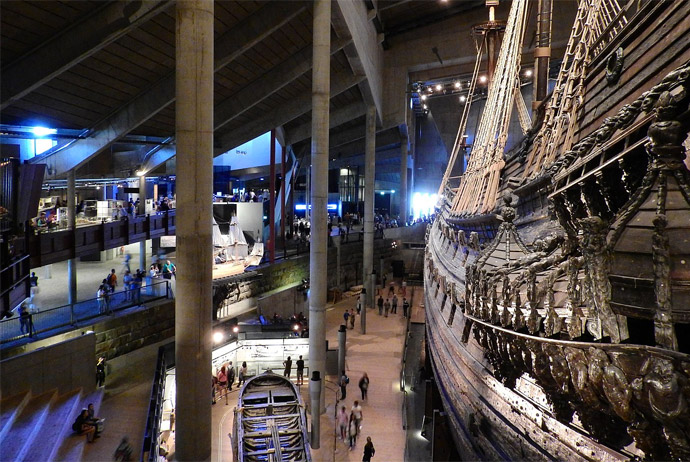 The Vasa Museum is a great place to visit in Stockholm