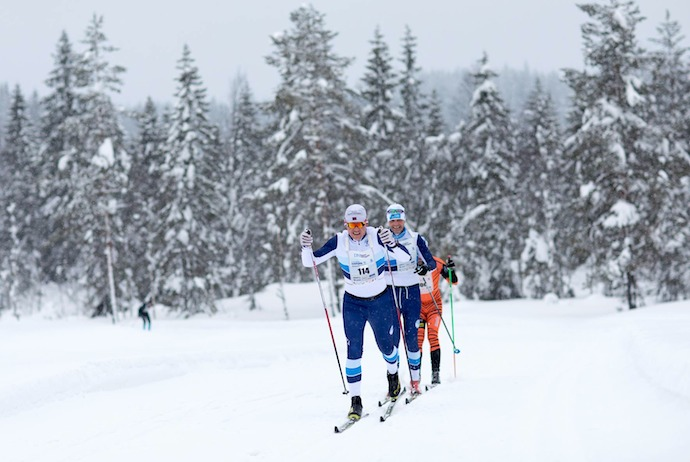 The Holmekollmarsjen ski race