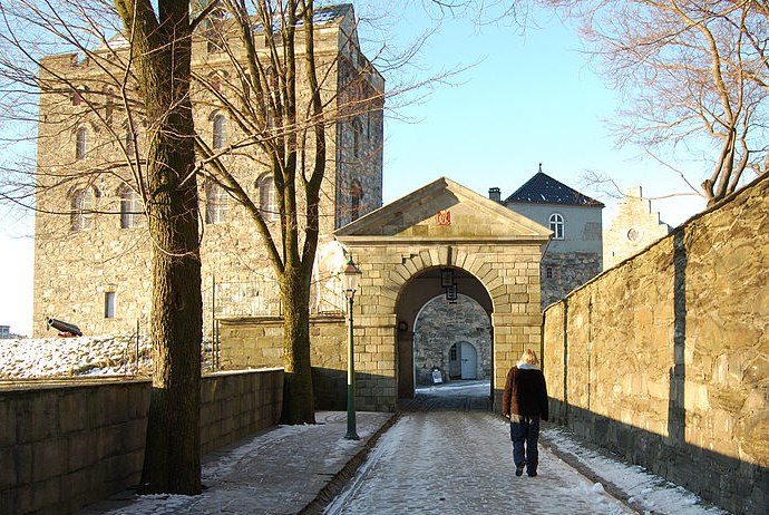 The Bergenhus Fortress, home to Bergen's Resistance Museum