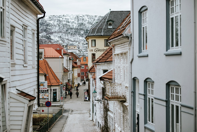 Bergen is one of the best Scandinavian cities to visit in the winter