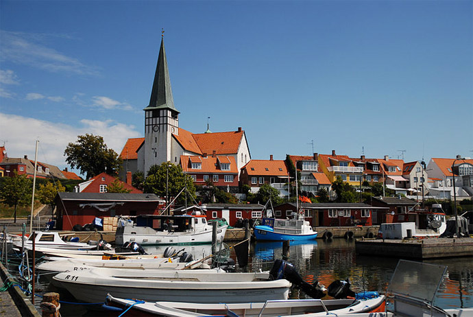 Bornholm is a great Danish island to visit in summer