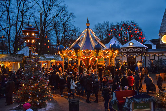 Copenhagen is a great place to visit at Christmas