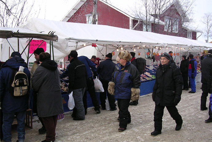 Jokkmokk Winter Market in Sweden