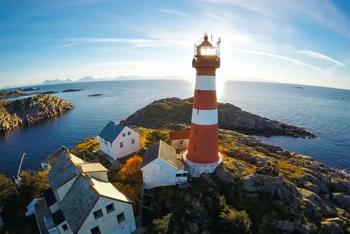 Norway's lighthouses are some of the best places to stay in Scandinavia