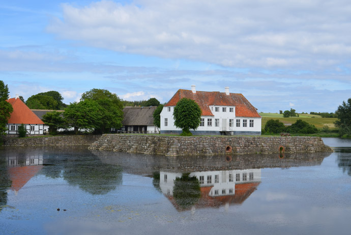 Søbygaard on the island of Æro, Denmark