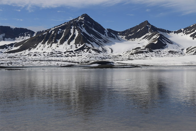 Svalbard is a great place to visit in summer or winter