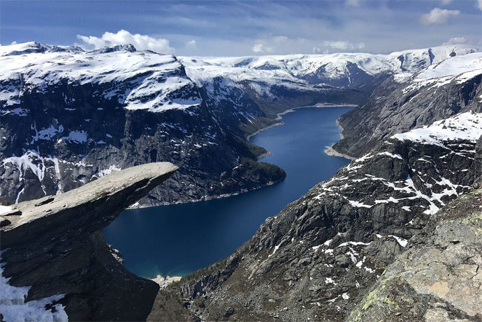 Norway's natural attractions are all free to visit