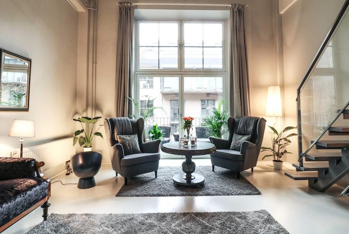 There are lots of apartments available to rent through Airbnb in Oslo