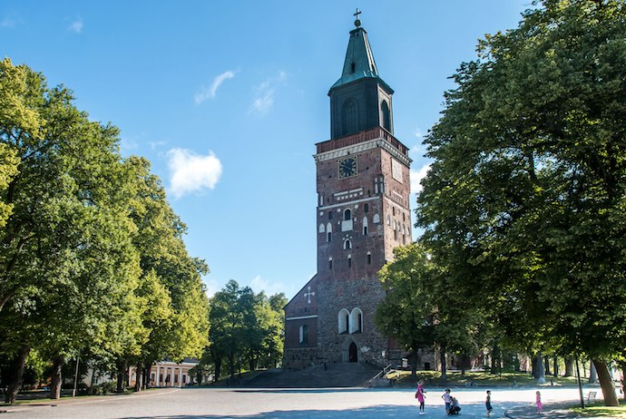 Turku is a nice day trip to take from Helsinki, and it offers a distinctly Swedish feel