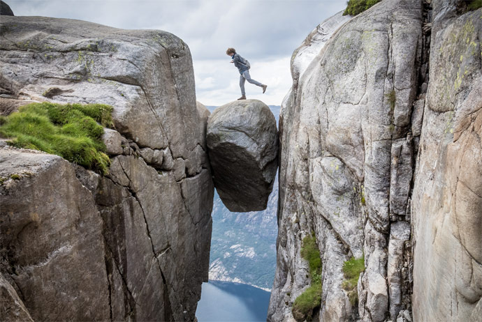 Some extreme activities in Norway aren't covered by travel insurance