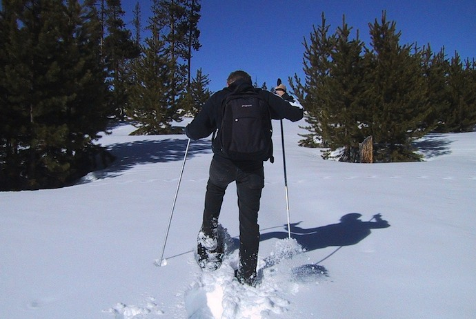 Snowshoeing is one of the best tours in Norway