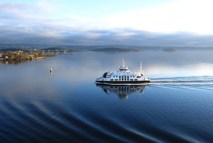 Go island hopping in Oslofjord by public ferry