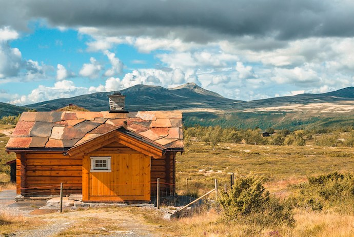 Hiking in the Rondane National Park, Norway