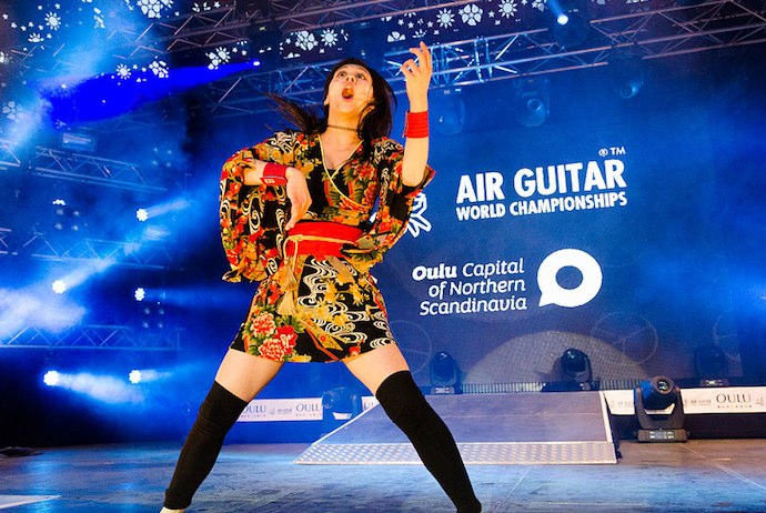 Air Guitar World Championships, Oulu @ Oulu
