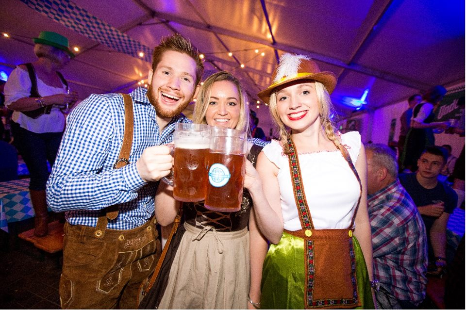 German celebrations at Copenhagen's Oktoberfest