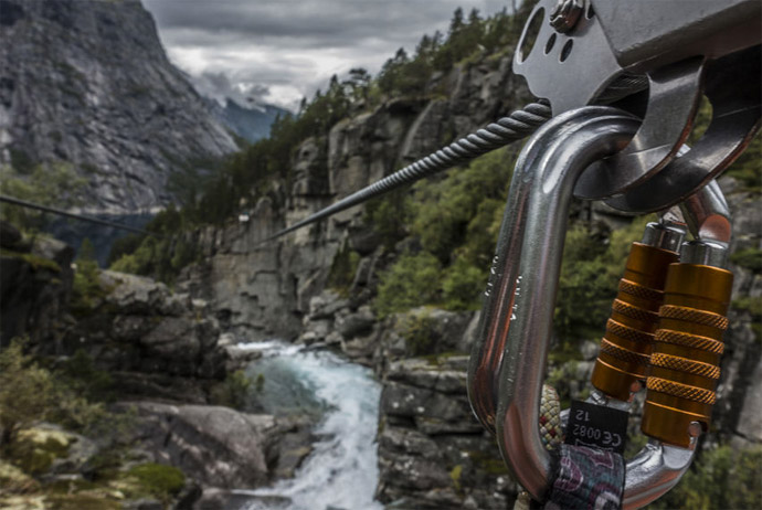 If you're brave enough, this zip-wire tour in Norway is worth a try!