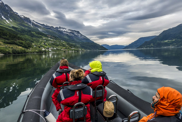 This boat tour is an adrenaline-pumping way to see Norway's fjords