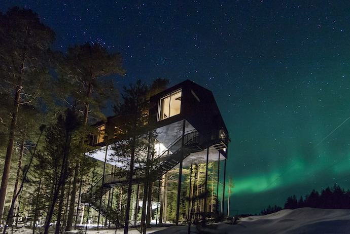 The Treehotel is one of Swedish Lapland's best (and most expensive!) places to stay