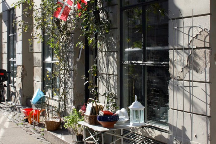 Ravnsborggade is a great place for bargain hunting in Norrebro, Copenhagen